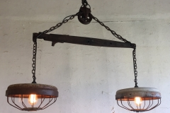 Double Harness Hanging Lamp