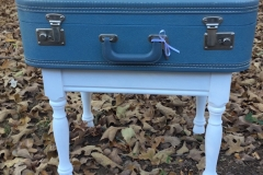 Blue Suitcase Table