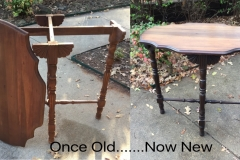 Entry spindle table B&A