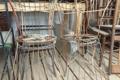 4 Metal Wirery Chairs resized
